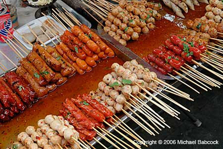 Street Food on a Stick