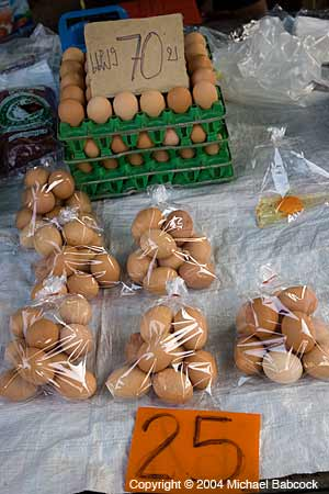 Eggs in Nong Kai Market
