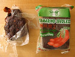Compressed Tamarind Package