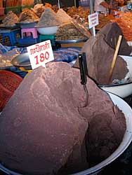 Shrimp paste in Hua Hin market