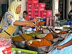 Curry vendor in Krabi