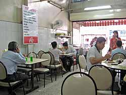 Duck Noodle Shop Inside