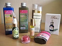 Moringa Oil Products