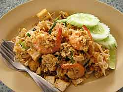 Pad Thai Close-up