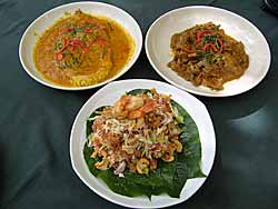 Three Thai Dishes
