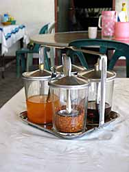 Thai Condiment Set