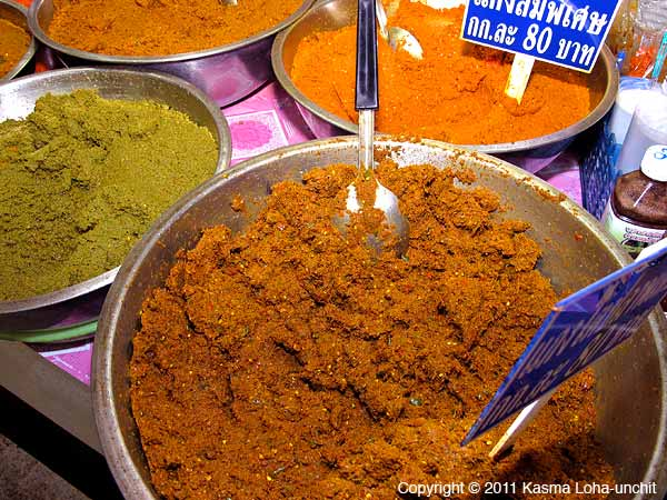 Curry Paste Close-up