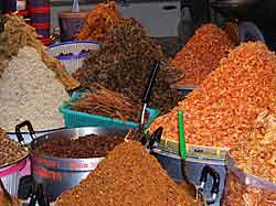 Various Dried Foods