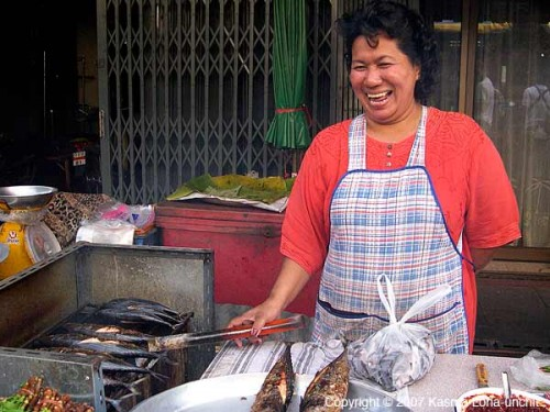 Grilled Fish Vendor