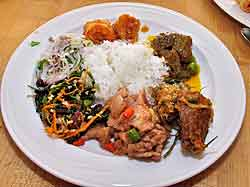 Plate of Thai Food