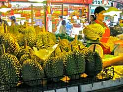 Weighing Durian