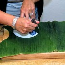 Cutting Banana Leaf thumbnail
