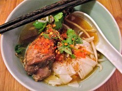 Stewed Duck Noodle Soup