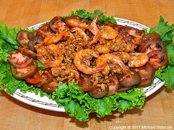 Garlic Peppered Shrimp