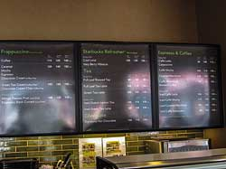 Starbucks Prices