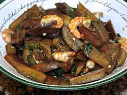 Stir-Fried Eggplant