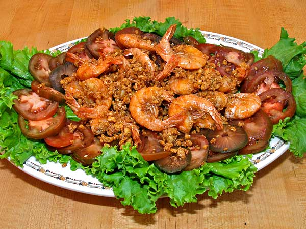 Garlic-Peppered Shrimp