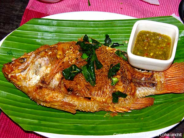 Fried Whole Fish 1