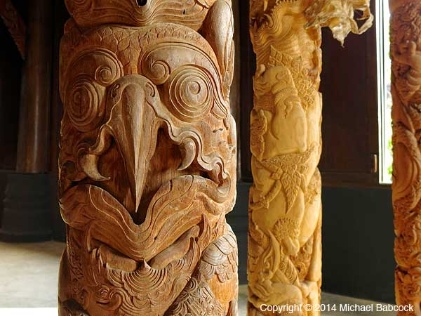Carving Close-up