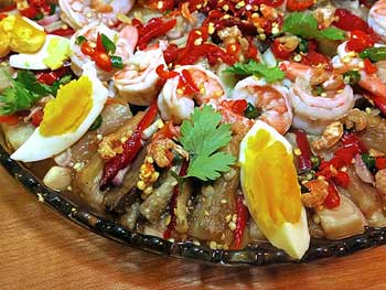 Spicy Mesquite-Grilled Eggplant Salad – Yum Makeua Yao