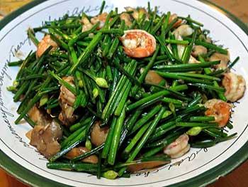 Stir-fried Garlic Chives