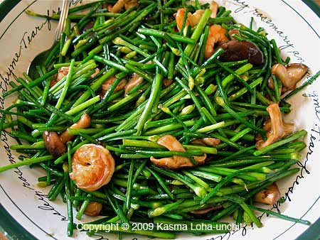 ... chinese chives chinese chives fisherman s shrimp with chinese chives