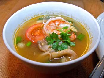 Hot and Sour Soup - click for larger image