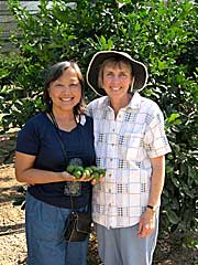Kasma and Mary Helen Seeger of Four Winds Nursery