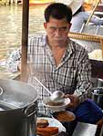 Vendor making Boat Noodles