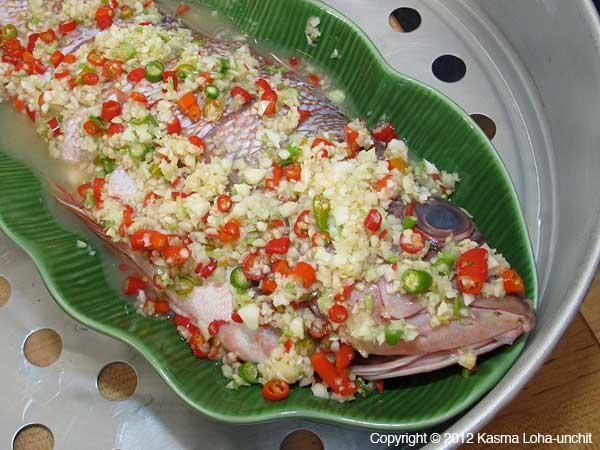 Moms good easy steamed fish recipe a forumfinder Image collections