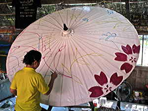 Painting umbrella